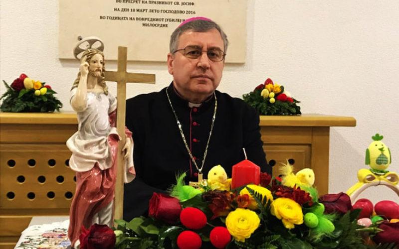 Воскресна честитка на бискупот Стојанов