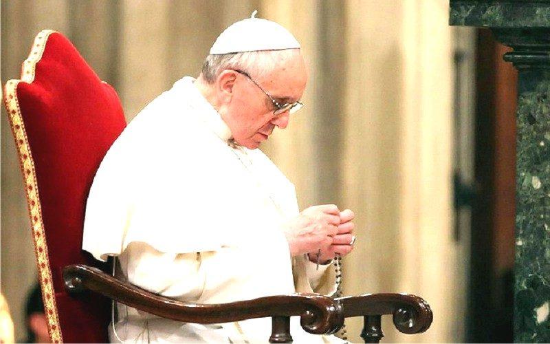 Писмо на папата Фрањо до сите верниците за месец мај – месецот на посветен на Богородица