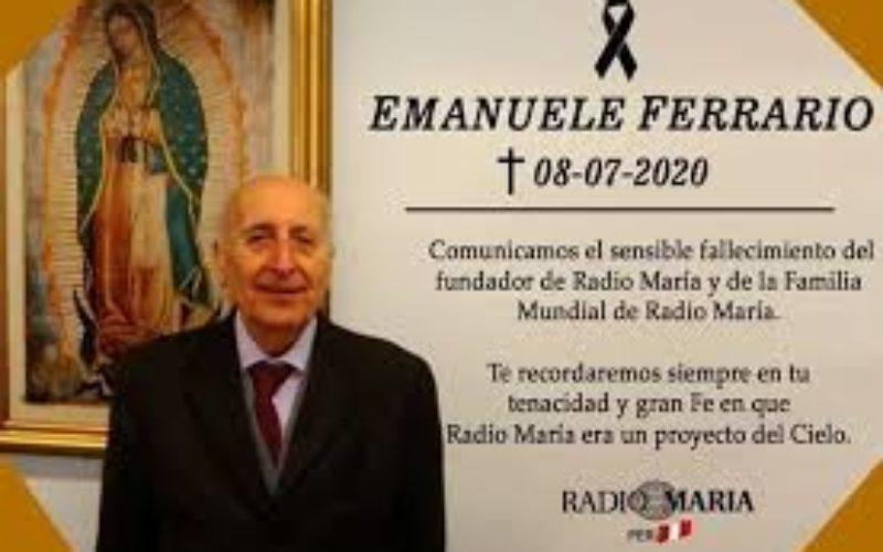 Довидување, драг Ферарио